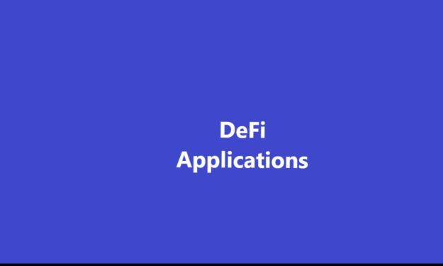 DeFi applications