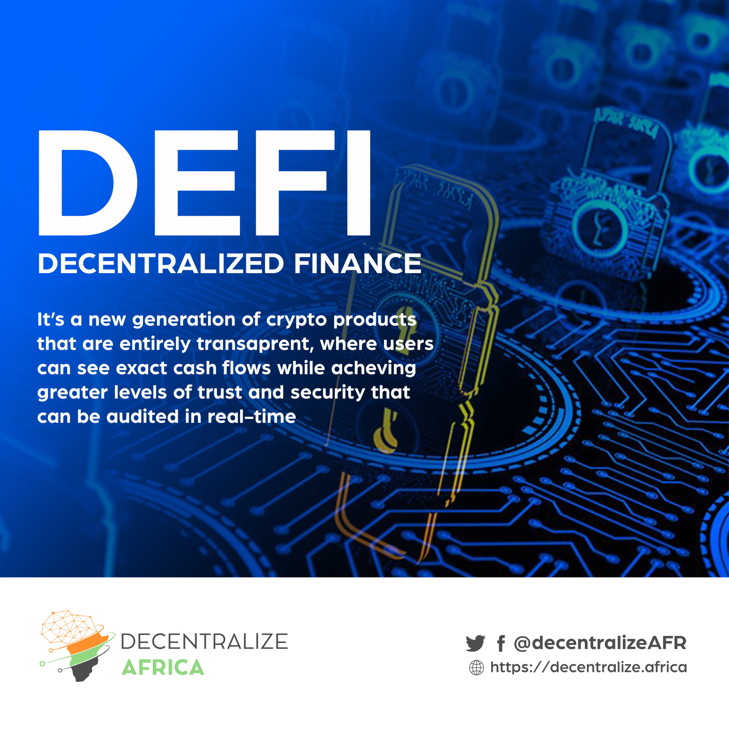 DeFi – Decentralized Finance