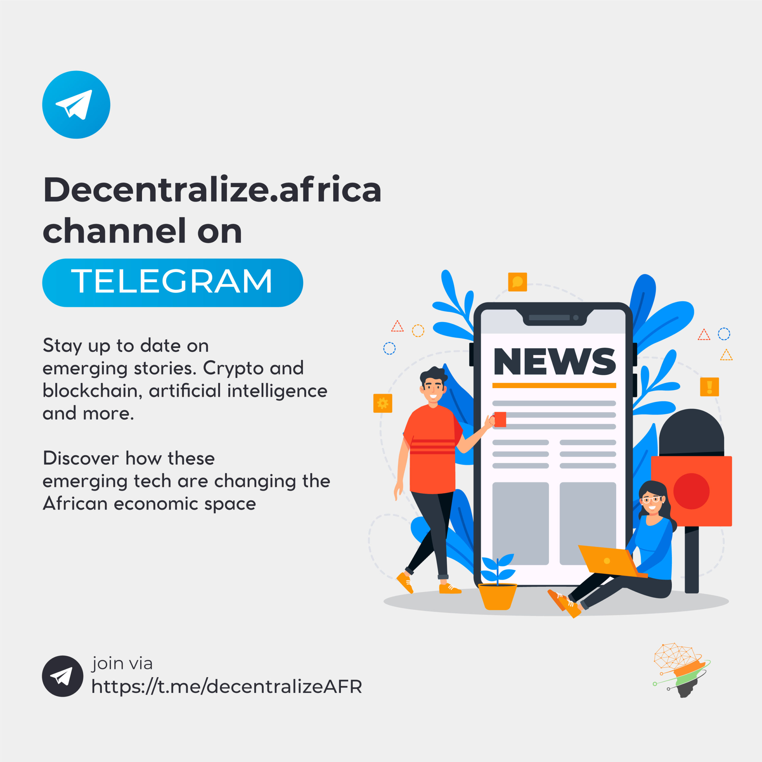 Decentralize africa telegram channel